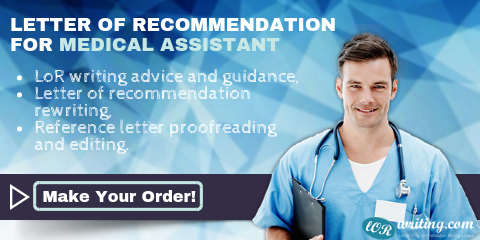 writing medical assistant letter of recommendation