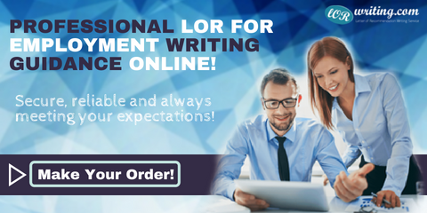 writing a professional letter of recommendation for employment