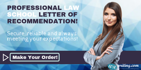 impressive law school letter of recommendation sample