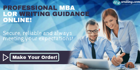 writing a professional sample mba recommendation letter