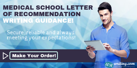 writing medical school letter of recommendation